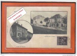 Carte Postale 54. Audun-le-Roman  Avenue De La Gare  Trés Beau Plan - France