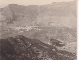 Vue Sur ALCODONALES Et Rocher De ZAHARA 1955 Photo Amateur Format Environ 7,5 Cm X 3,5 Cm - Lugares