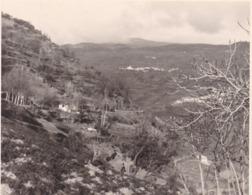 ALPUJARRAS  CORTICO PAMPANEIRA Et BUBION 1954 Photo Amateur Format Environ 7,5 Cm X 3,5 Cm - Lugares