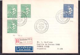 Sverige - 1963 - Lettre - Hockey Sur Glace - Hockey (sur Glace)