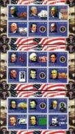 Turkmenistan 2000 _ The Presidents Of America 1789 - 1969 _ 6 X Sheet - MNH ** - George Washington