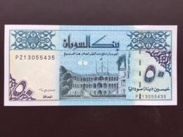 SUDAN P54 50 DINARS 1993 UNC - Sudan
