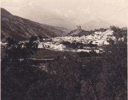 VELEZ De BENAUDALLA 1954 Photo Amateur Format Environ 7,5 Cm X 3,5 Cm Espagne - Lugares