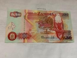 Zambia 50 Kwacha Banknote 2008 - Sambia