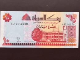 SUDAN P52 10 DINARS 1993 UNC - Sudan