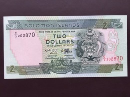 SALOMONS ISLANDS P18 2 DOLLARS 1997 UNC - Isla Salomon