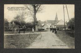36 - SAINT CHRISTOPHE En BAZELLE - Route De Valençay Et Route De Poulains - 1920 - RARE ,#36/001 - France