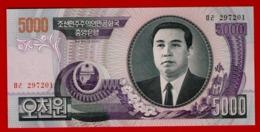 NORTH KOREA 5000 WON 2006 P-46A UNC - NEUF - Korea, North