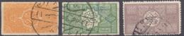 ARABIA SAUDITA, Regno Di Hedjaz - 1916/1917 - Lotto Composto Da 3 Valori Usati: Yvert 4, 5 E 8. - Arabia Saudita