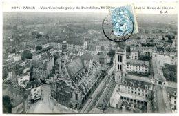 75005 PARIS - Vue Générale Prise Du Panthéon, Saint-Etienne-du-Mont Et La Tour De Clovis - Distretto: 05