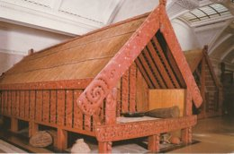 Te Puawai O Te Arawa  A Pataka Or Storehouse Carved In About 1860, Auckland War Memorial Museum, New Zealand - New Zealand