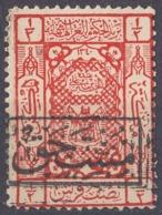 ARABIA SAUDITA, Regno Di Hedjaz - 1923 -Yvert Segnatasse 10 Nuovo MH. - Arabia Saudita