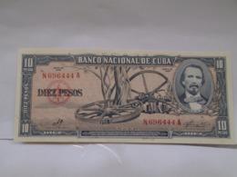 Cuba, 10 Pesos 1960. Signature By Ernesto Che Guevara, Crisp, UNC. - Cuba
