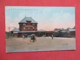O & W  R.R. Station  Middletown  New York Ref 3626 - NY - New York