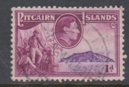 Pitcairn Islands  Scott 2 1940 Definitive 0ne Penny,used - Stamps