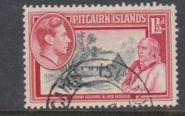 Pitcairn Islands  Scott 3 1940 Definitive  Three Half Penny,used - Stamps