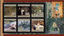 Guinea  2012  Paintings, Gustav Klimt, John Singer Sargent - Guinea (1958-...)