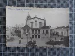 11.468) Portugal Olhão Praça Da Restauração Ed. Livraria Capela - Faro