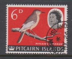 Pitcairn Islands  Scott 44 1964 Queen Elizabeth II ,6d ,used - Stamps