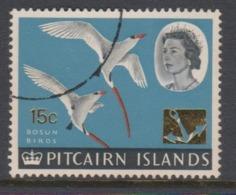 Pitcairn Islands  Scott 79 1967 Queen Elizabeth II ,15c ,used - Stamps