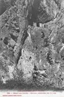 09)   USSAT Les  BAINS  -  Grottes Fortifiées Des Eglises - France