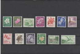 1960-1962 Norfolk Island Flora Building Birds Set Of 13 MNH And MLH See Both Images - Norfolk Island