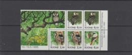 1993 Finland Full Pane Of 5 From Booklet MNH - Booklets