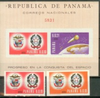 Panama 1966 Mi# 895,900, Bl53  MNH  Cv Eur25 Space - Panama