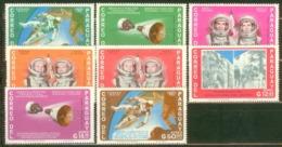 Paraguay 1966 Mi#1503-1510 MNH Cv Eur3.6 Space - South America