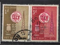 VIETNAM   SUD               N°     YVERT    259/60   OBLITERE              ( Ob  4/ J  ) - Vietnam