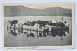 The Water Palace (Island Of Jag Niwas In Lake Pichola), Udaipur, Rajasthan, India - India