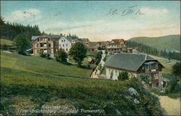 Brückenberg-Krummhübel Karpacz Górny Karpacz Stadt Mit Hotel Franzenshöh 1912 - Schlesien