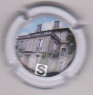 Capsule Champagne LIONS CLUB ( 57 ; Lettre S Du Puzzle Le Mesnil-sur-Oger , Personnalisée Bernard Pertois ) {S38-19} - Champagne