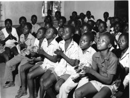 Photo Haute Volta (Burkina Faso) 1980. Ecoliers à Reo. Photo Du Père Gust Beeckmans - Africa