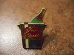 A041 -- Pin's Alcool Jean Rigaut -- Exclusif Sur Delcampe - Boissons