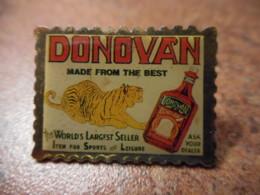 A041 -- Pin's Alcool Donovan - Boissons