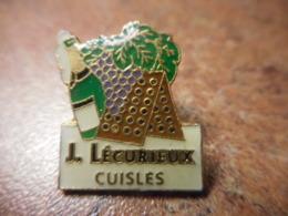 A041 -- Pin's Alcool J. Lecurieux Cuisles - Boissons