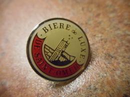 A041 -- Pin's Alcool Biere De Luxe De Saint Omer - Boissons