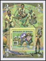 BURUNDI 2017 MNH** Robert Baden Powell Scouts S/S - OFFICIAL ISSUE - DH1819 - Scouting