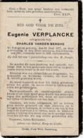 Bekegem, Bekeghem, 1931, Eugenie Verplancke, Vandenberghe - Images Religieuses