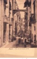 NAPOLI - NAPLES  - Una Via Di Basso Porto - Napoli
