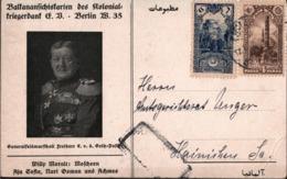 ! 3 Ansichtskarten Kolonialkriegerdank, Konstantinopel, Constantinople, Türkei, Hainichen - 1858-1921 Empire Ottoman