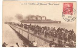 22330 - Paquebot PARIS - 1921-1960: Modern Period