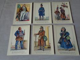 Beau Lot 24 Cartes Postales De Types Et Costumes Brabançons Vers 1835 - Illustrateur J. Thiriar - 4 Series De 6 C. P. - 5 - 99 Postkaarten
