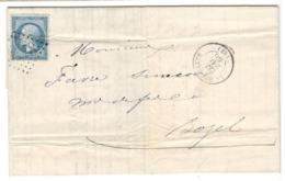 22337 - TAILLANDERIE - Storia Postale