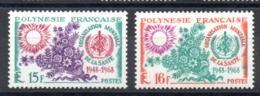 POLYNESIE - YT N° 60-61 - Neufs ** - MNH - Cote: 24,00 € - Polynésie Française