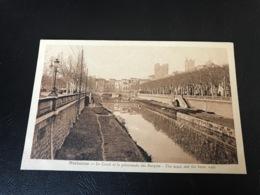 NARBONNE Le Canal Et La Promenade Des Barques - Narbonne