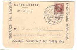 22349 - Pétain Avec Bande  Publicitaire - Marcofilia (sobres)