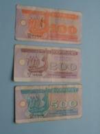 100 - 200 - 500 () 1992 ( Voir Photo Pour Détail Svp / For Grade, Please See Photo ) ! - Ucrania