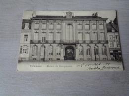 Belgique  België  ( 709 )   Tirlemont   Thienen  Tienen   Maison Du Bourgmestre - Tienen